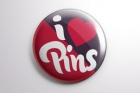 Psd Button Badge Pin Mock-Up