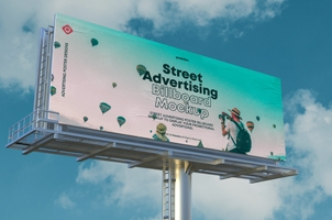 Psd Billboard Mockup Vol4