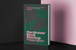 Psd Book Mockup Hardcover 2