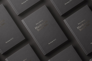 Psd Book Mockup Hardcover Vol3