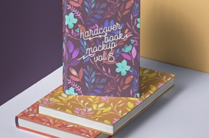 Psd Book Mockup Hardcover Vol5