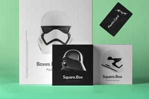 Psd Boxes Packaging Pack Mockup