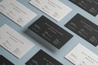 Psd Business Card Brand Mockup Vol2
