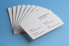 Psd Business Card Brand Mockup Vol4