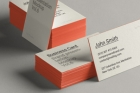 Psd Business Card Brand Mockup Vol6