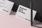Psd Business Card Brand Mockup Vol7