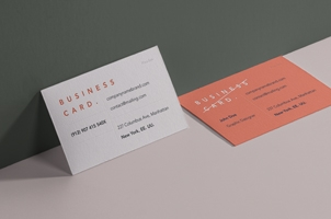 Psd Business Card Branding Mockup 2