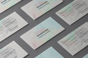 Psd Business Card Branding Mockup 3 Bis