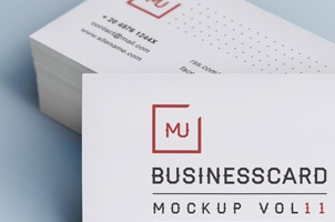 Psd Business Card Mock-Up Vol11