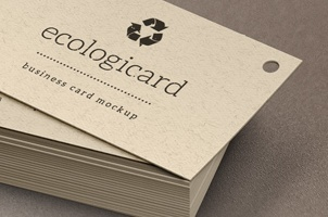 Psd Business Card Mock-Up Vol12