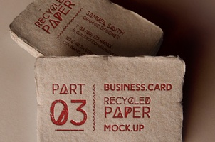 Psd Business Card Mock-Up Vol16 v3