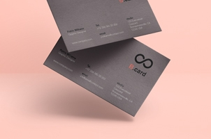 Psd Business Card Mock-Up Vol38