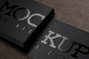 Psd Business Card Mockup Vol5