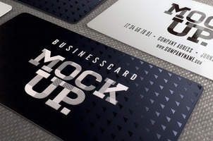 Psd Business Card Mockup Vol6