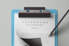 Psd Clipboard Stationery Mockup Vol3
