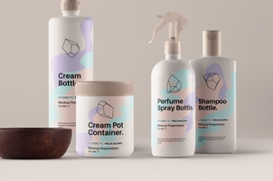 Psd Cosmetic Packaging Mockup Vol11