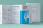 Psd Double Gate Fold Brochure Vol5