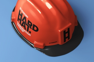 Psd Hard Hat Security Mockup