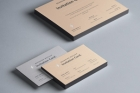 Psd Invitation Card Mockup Vol6