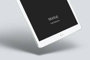 Psd iPad Air 2 Gravity Mockup