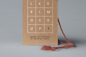 Psd Label Brand Mockup Vol7