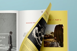 Psd Magazine Mockup View Vol3-2