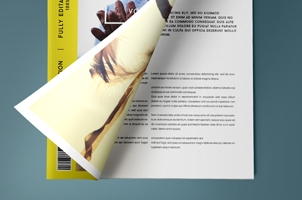 Psd Magazine Mockup View Vol3