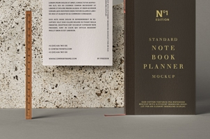 Psd Notebook Stationery Mockup