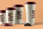 Psd Paper Hot Cup Template Vol7
