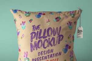 Psd Pillow Mockup Presentation