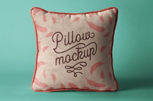 Psd Pillow Mockup Presentation Vol3