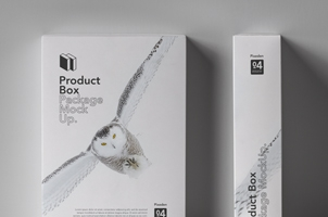 Psd Product Box Package Mockup 4