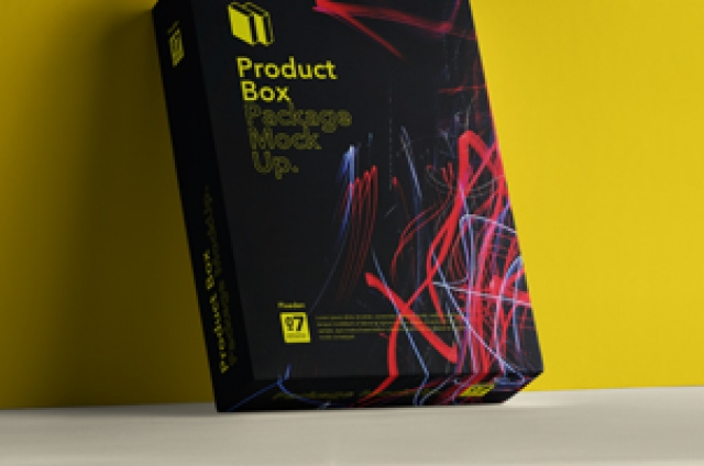 Psd Product Box Package Mockup 7