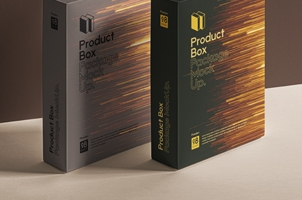 Psd Product Box Package Mockup 8