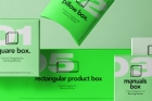 Psd Product Mockup Packaging Set