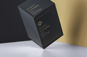 Psd Product Packaging Box Mockup 2