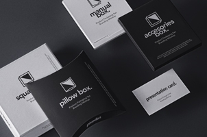 Psd Product Packaging Set Mockup