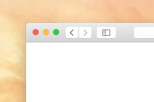 Psd Safari Yosemite Browser Mockup