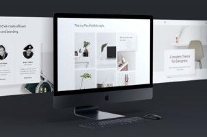 Psd Screen iMac Pro Mockup Showcase