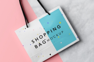 Psd Shopping Bag Mockup