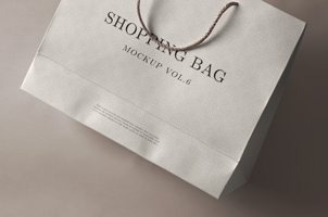 Psd Shopping Bag Mockup Vol 6