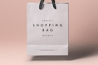 Psd Shopping Bag Mockup Vol4