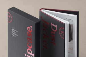 Psd Slipcase Book Mockup Vol5