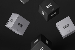 Psd Square Box Packaging Mockup
