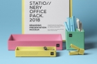 Psd Stationery Office Pack Mockup