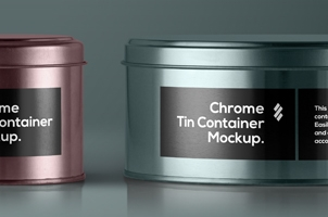 Psd Tin Container Packaging Vol3