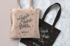 Psd Tote Bag Fabric Mockup Vol2