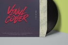 Psd Vinyl Cover Record Mockup Vol4