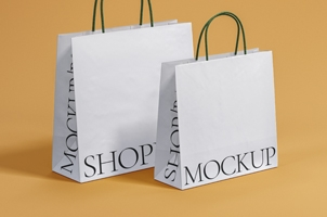 Shopping Psd Bag Mockup Set