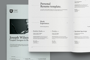 Simple Resume Template Vol8
